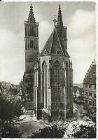 Ansichtskarte Rothenburg ob der Tauber - St. Jakobskirche - schwarz/weiß