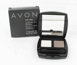 Avon True Color Eyeshadow Duo 2.0g net wt Healthy Glow 2 Eyeshadow Duo