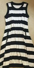 KATE SPADE Women's Striped Cotton Dress - Size S