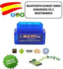 BLUETOOTH ELM327 OBDII OBD2 DIAGNOSIS COCHE V2.1 USB UNIVERSAL MULTIMARCA MINI S