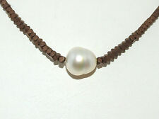 Handgefertigte Halsketten und Anhänger für Damen mit Südseeperlen