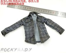 "Blue Checked Shirt for CCTOYS THE LAST SURVIVOR ""JOE"" 1/6 Scale Action Figure"