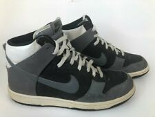 2012 Nike Sb Dunk High- Mens- Sz 10- Gray Denim- [317982 054]- Skateboarding