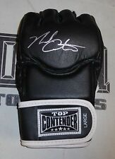 Nick Catone Signed MMA Glove PSA/DNA COA Autograph UFC 169 128 102 Fight Night