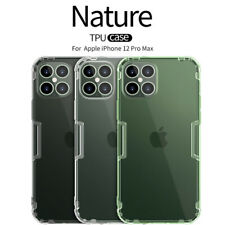 NILLKIN For iPhone 12 Pro Max Ultra-Thin Nature Transparent Soft TPU Cover Case