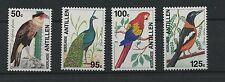 (W0609) BIRDS, NETH. ANTILLES, NVPH 1052/55, SET, MNH/UM, SEE SCAN