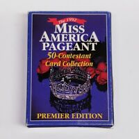 1992 Miss America Pageant Trading Cards 50 Cards - PREMIER EDITION - With Bios!