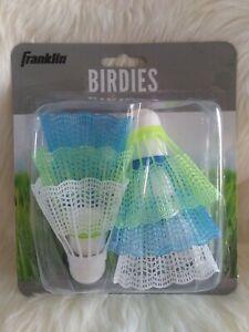 Franklin Sports 6 Plastic Shuttlecocks W