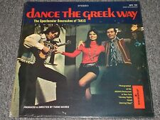 Dance The Greek Way~The Spectacular Bouzoukee of Takis~Monitor MFS 722~SEALED