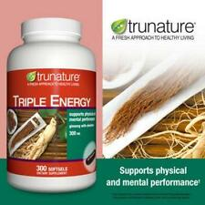 trunature Triple Energy Ginseng with Eleuthero 300 mg., 300 Softgels
