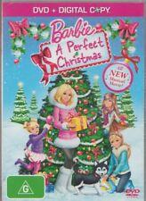 D.V.D MOVIE  DB421     BARBIE  A PERFECT CHRISTMAS   DVD