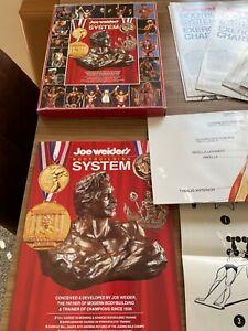 Joe Weider's Bodybuilding System Book Arnold Schwarzenegger