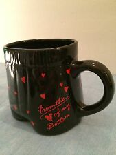 "Mug/Cup Reads ""From the Heart of My Bottom"" Men's Boxers w/Hearts Collectible"