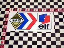 Francesa Elf Pantalla Trasera calcomanía Renault 10 12 14 16 17 5 4l 8 Estafette autocollant