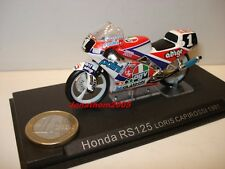 MOTO HONDA RS 125 N° 1 LORIS CAPIROSSI 1991 au 1/24°