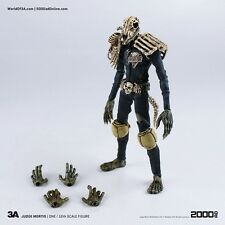 2000 AD JUDGE DREDD JUDGE MORTIS 1/12 SCALE Action Figure - UK Seller