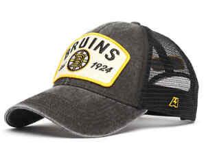 Boston Bruins trucker retro cap hat NHL team Ice hockey club 1924