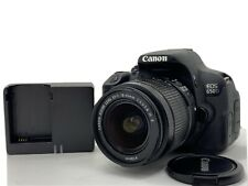 O318 Canon EOS 650D DSLR + Canon EF-S 18-55mm IS II - Low Shutter Count