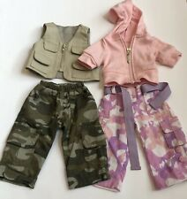 Outfit For Bitty Twins American Girl Set Girl Boy Camo