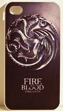 FIRE & BLOOD TARGARYEN HARD BACK CASE  for  iPhone 4 / 4S  BRAND NEW FREE SHIP!