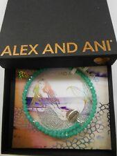 Alex and Ani Pebble Wrap TROPICAL Bangle Bracelet Rafaelian Silver NWTBC 2017