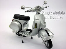 Vespa P200E Silver Scooter 1/12 Scale Die-cast Metal Model by NewRay