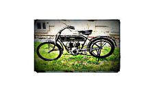 1913 peugeot Bike Motorcycle A4 Photo Poster