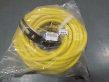 Yodotek X00219Qzw1 50Ft Generator Locking Cord, Yellow