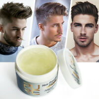 Men Nature Clay Hair Styling Wax Strong Hold Barber Styling Low Shine  grooming