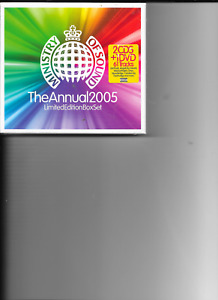Various -Ministry of sound The annual 2005 (  2 CD & DVD 2004)