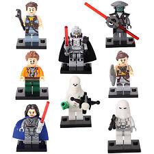 Star Wars The Force Awakens Zander Kordi Rowan 8 Mini figures Building Toys lEGO