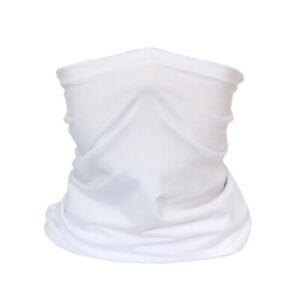 Neck Gaiter FILTER Tube Bandana Scarf Face Mask Balaclava Multi-use Protection