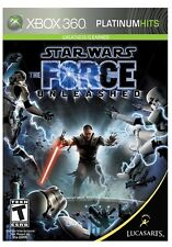 STAR WARS THE FORCE UNLEASHED * XBOX 360 * BRAND NEW FACTORY SEALED!