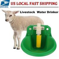 Plastic Automatic Water Drinker Waterer Bowl For Goat Sheep Pig Piglet Livestock