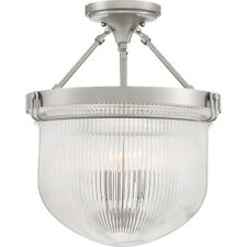 Quoizel Murphy 3 Light Semi-Flush Mount, Brushed Nickel - MHY1715BN
