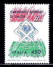 SELLOS DEPORTES FUTBOL. ITALIA 1989 1834 1v.