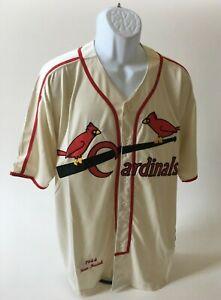 Stan Musial # 6 1944 St. Louis Cardinals MLB Baseball Jersey Size  - XL