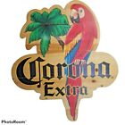 Vintage 80's Corona Extra Beer Handmade Large Wooden Store Signage