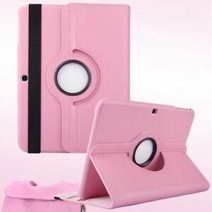 360 ° Stand PU Case Cover Samsung Galaxy Tab 4 / Tab 3 Tablet 7 & 8 & 10.1 inch