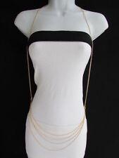 Belly Waist Trendy Long Chunky Jewelry Women Necklace Fashion Harness Body Chain