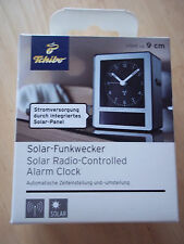 Tchibo - Tcm Solar Funkwecker schwarz   ***NEU**OVP