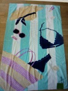 New - Oversized Kate Spade Beach Towel Blanket