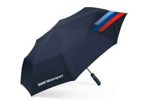OEM BMW M Collection, M Logo Folding Automatic Umbrella With Cover