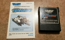 Coleco Colecovision Turbo Game Cartridge and Doc!