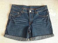 tolle Damen kurze Hose HOT PANTS Shorts JEANS Gr S/36 Damenjeans Hüftjeans Panty