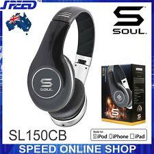SOUL SL150CB by Ludacris Pro Hi-Definition On-Ear Headphones - Black