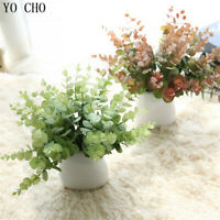 DIY Handmade Plastic Grass Wheat Plant Artificial Bouquet Home Hotel Party Decor