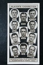 Huddersfield Town   1922  FA Cup Winning Team  Vintage Photo Card # VGC