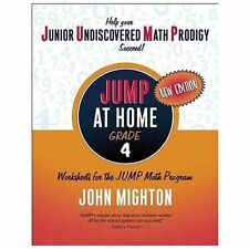 JUMP at Home Grade 4: Worksheets for the JUMP Math Program-ExLibrary