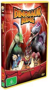 Dinosaur King - Volcanic Panic : Volume 2 (10 Episodes) DVD BRAND NEW SEALED 🔥